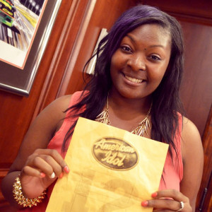 5 minutes with Candice Glover:  Beaufort's American Idol  (photo courtesy Fox)