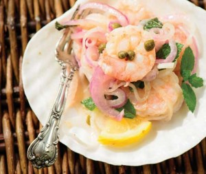 Lowcountry Food: Vidalia's On My Mind, A Fresh Take on Pickled Shrimp Photo by Andrew Branning