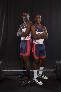 CJ and Omar Cummings: The strongest brothers in the world.  Photo by Susan DeLoach