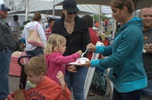 There was plenty for everyone at the Soft Shell Crab Festival   Photo by Dawn Ramsey