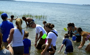 Kids discover treasure at The Sands  Photo ESPB/Christina Bland