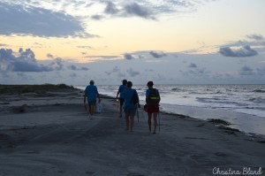 A weekend walk with the Fripp Island Turtle Patrol Photo by Christina Bland/ESPB