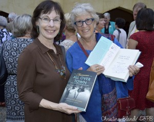Book signing with Bernie Schein: Famous All Over Town