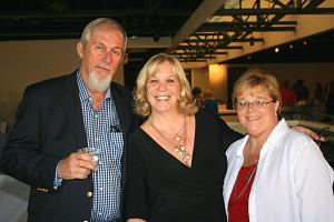 Kip Graham with Cindy Reid & Julie Hales
