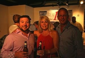Joel Garrett with Claudette & Tim Stewart