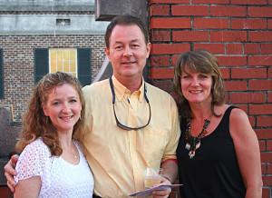 Mike McFee with Elaine Lake & Penny Lynn Smith