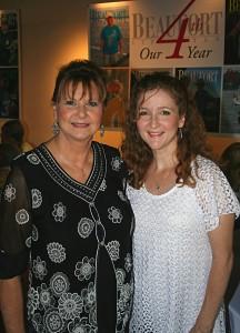 Velma Polk & Elaine Lake