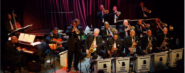 The Count Basie Orchestra performing at the Benaroya Hall in Seattle, Washington