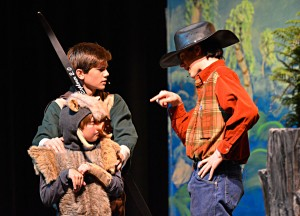 Children's Theatre's production of Rockin' Tale of Snow White onstage this weekend