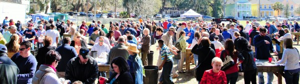 Community fun at St. Peter's 10th Annual Oyster Roast