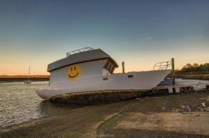 The 'Happy Boat'. Photo courtesy Phil Heim