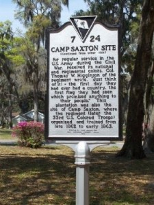 Black History Month: Experience Beaufort's rich African American heritage. Camp Saxton