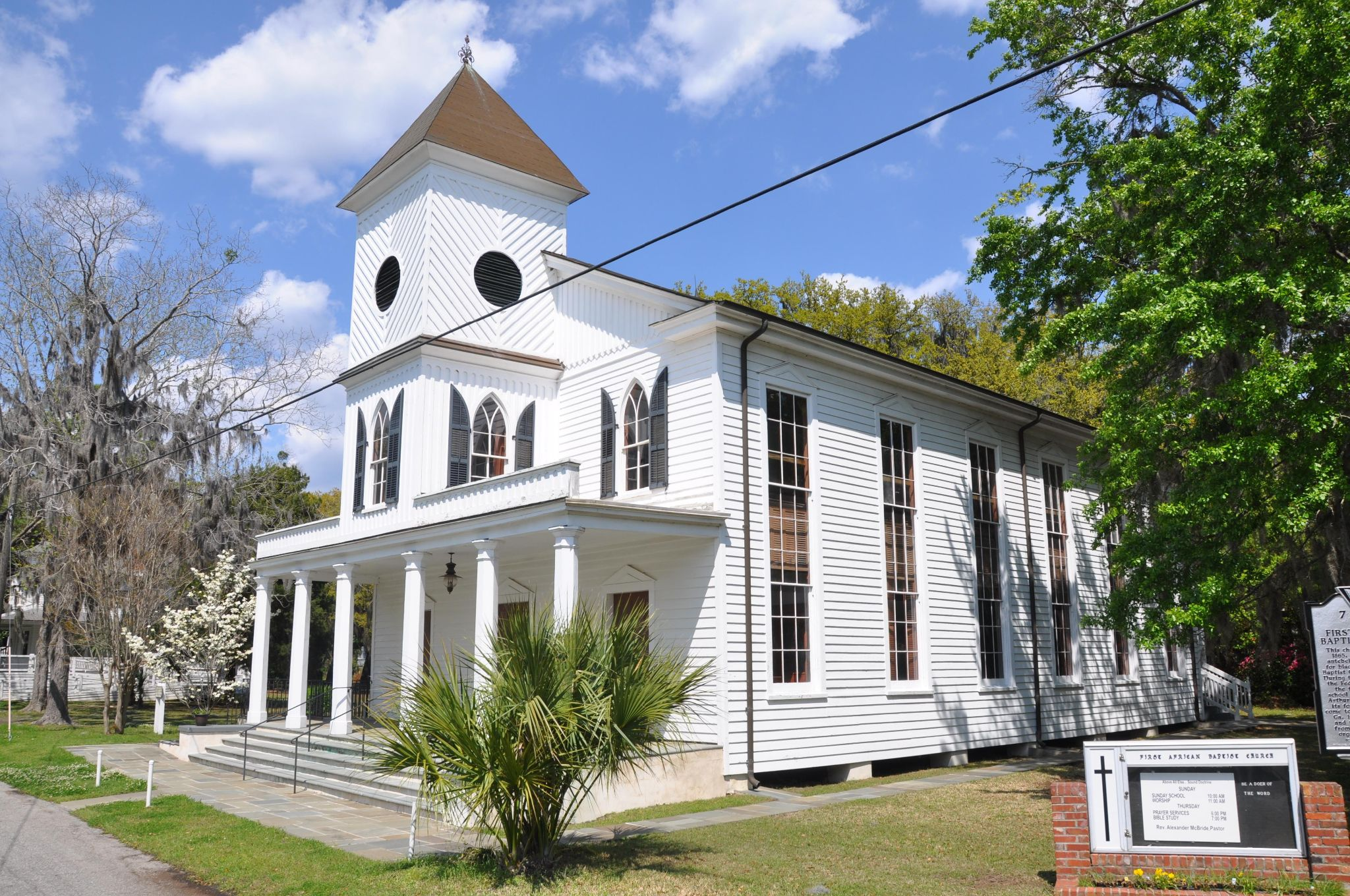 Black History Month: Experience Beaufort's rich African American heritage. First African Baptist Church