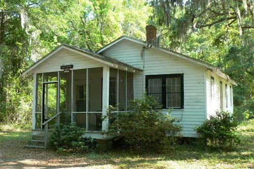 Black History Month: Experience Beaufort's rich African American heritage. Gantt Cottage at Penn Center