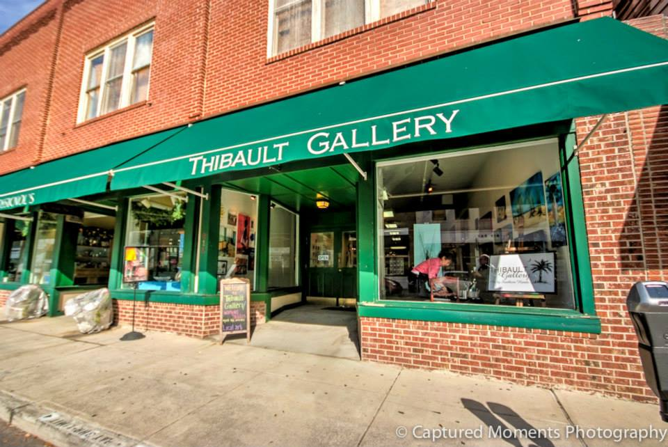 You'll find work from several artists in several mediums at Thibault Gallery in downtown.  Photo courtesy Eric R. Smith