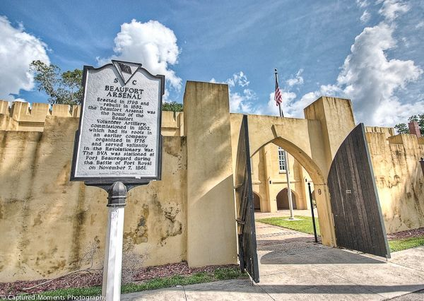 The Beaufort Arsenal is one of the most significant historic buildings in all of Beaufort with over 200 years of service. Photo courtesy Eric R. Smith