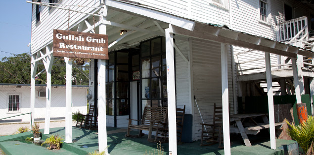 The Gullah Grub Restaurant. Photo by ESPB