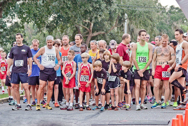 The popular Shrimp Festival 5K starts on Saturday, October 1st at 8am.