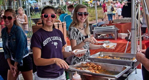 The annual Beaufort Shrimp Festival arrives at the end of the month.