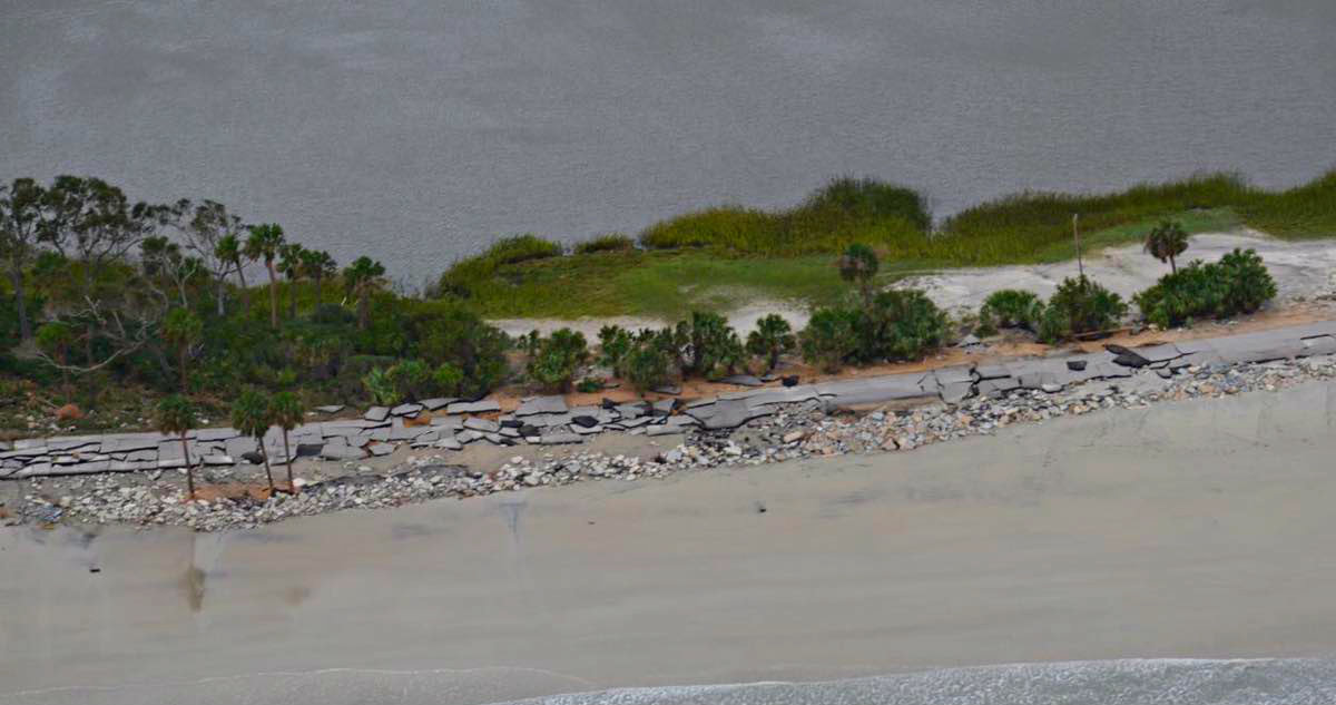 Hunting Island took a beating from Matthew and most of it remains closed throughout the rest of the year.  Photo courtesy Trina Tant