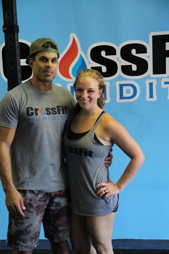 CrossFit Humidity's Korey and Danielle Bromery