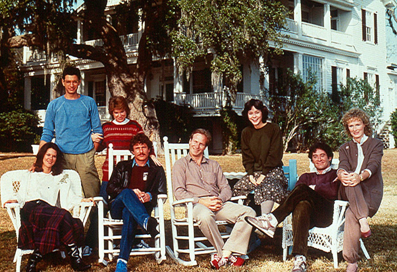 In 1983, Tidalholm was the setting of the film The Big Chill, with an all star cast including glenn close, Kevin Klein, Jeff Goldblum, William Hurt and Tom Berenger.
