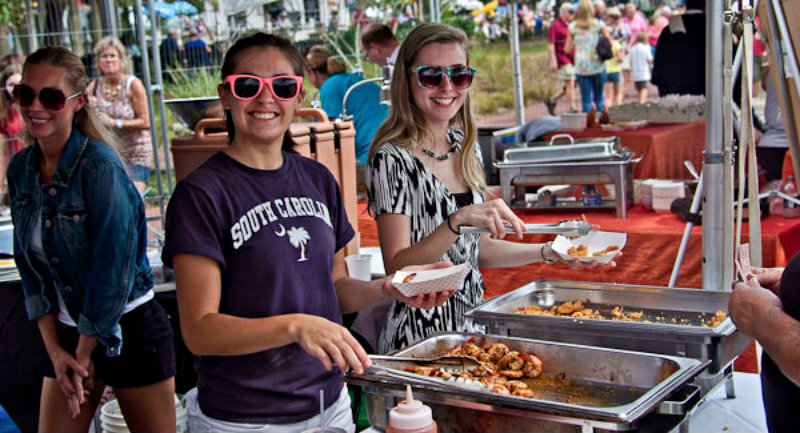 The annual Beaufort Shrimp Festival invades downtown on October 6th & 7th. ESPB photo