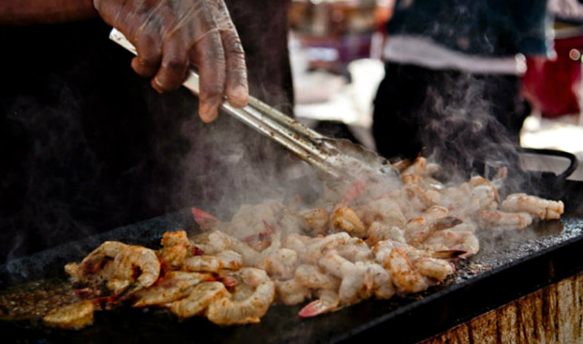 The Beaufort Shrimp Festival invades downtown Beaufort on Friday & Saturday. ESPB photo