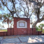 Site of historic 1562-1587 Charlesfort-St. Elena settlement on present day Parris Island