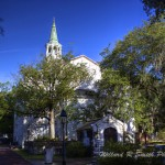 The historic Parish Church of St Helena, Beaufort SC  Photo by Ryan Smith