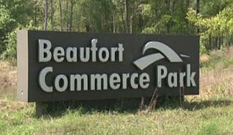 The Beaufort Commerce Park will be purchased by the City of Beaufort for $1.85 million.  City officials hope that it will spur economic development.