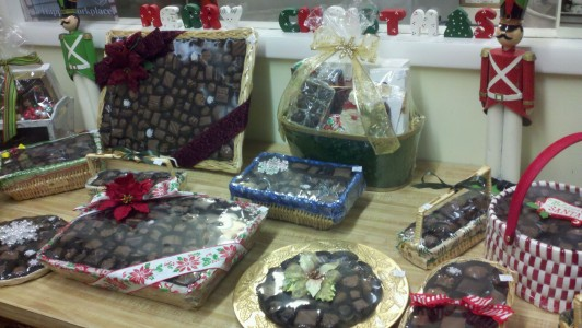 Christmas chocolates are a favorite at The Chocolate Tree