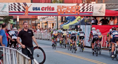 Exceeding the speed limit: Cycling Classic thrills downtown