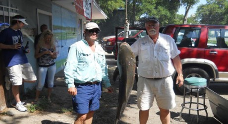 3rd Place winners of Lady's Island's Fillin Station's Cobia Tournament, Top Gun Charters