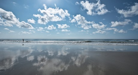 Hunting Island Beach:  Four miles of treasured, natural coast.   Photo courtesy of Eric R. Smith