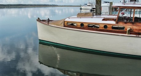 Cruising Beaufort's waterways 'Vintage Style':  The Annalee.   Photo courtesy of Eric R. Smith