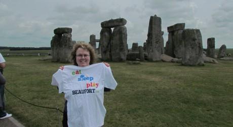 EatSleepPlayBeaufort T-shirts go 'on holiday'