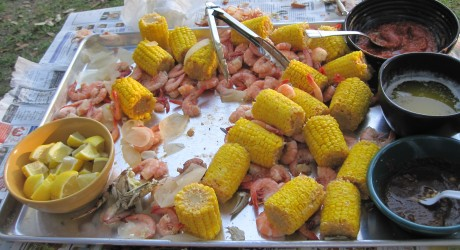 Lowcountry Boil:  A local tradition