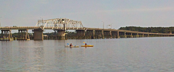 You can kayak Beaufort SC year round