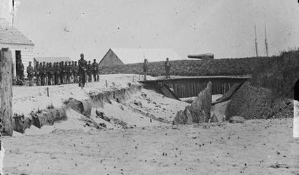 A journey through history:  The Battle of Port Royal   Photo of Fort Walker on Hilton Head Island which was on one side of Port Royal Sound and bore the brunt of The Battle of Port Royal