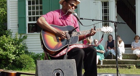 See bluesman Guy Davis in Concert at Beaufort Academy