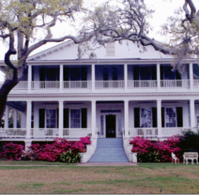 dalholm: One of Beaufort's many larger-than-life homes