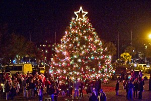 Beaufort's Christmas Tree Lighting at the Night on the Town Celebration