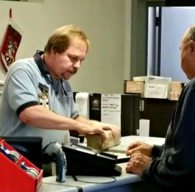 Post office 'delivers' during the Holidays