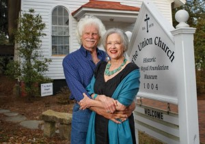The Journey: Beaufort's Joh Sharpe and Suzanne Larson (Photo by Susan DeLoach)