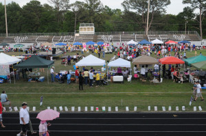 Beaufort uses hearts and feet to fight cancer at Relay for Life  (Photo courtesy Christy Cerny)