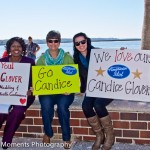 Candice Glover Rally in Beaufort's Henry C. Chambers Waterfront Park.  Photo by Eric R. Smith