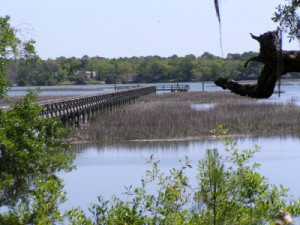 Battery Shores sits on the banks of Battery Creek and offers beautiful views that all can enjoy.  (Photo courtesy LowcountryLocale.com)