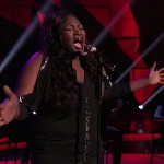 Candice Glover sings 'I Have Nothing' on American Idol.  Photo courtesy AI