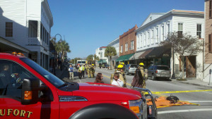 Noxious fumes scare closes portion of Beaufort's Bay Street Wednesday morning